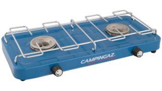 Estufa de dos hornillas Campingaz Base Camp - sin tapa