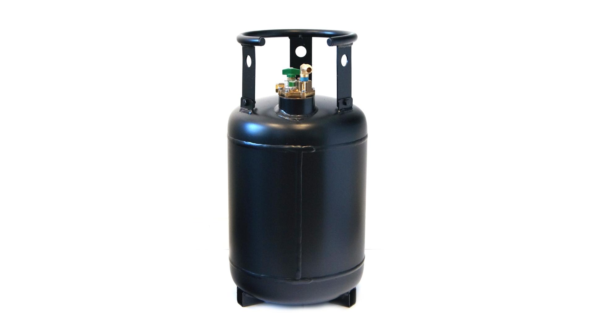 Cilindro de gas de 30 litros con multiválvula 80%