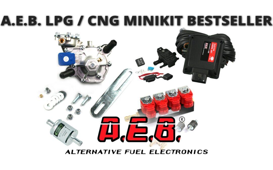 Minikit superventas LPG y CNG de A.E.B.