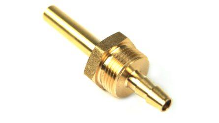 DREHMEISTER 6mm Rohrstutzen für Flexleitung 6mm