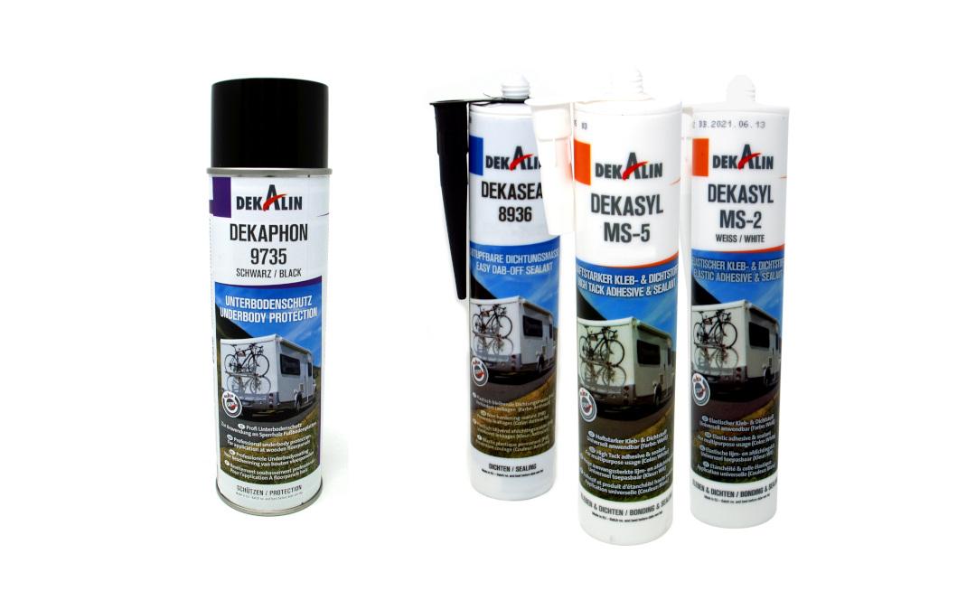 El sellador, adhesivo y protector de bajos Dekalin ya está disponible