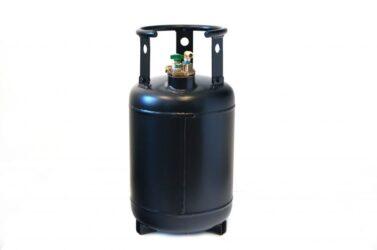 como abrir un cilindro de gas