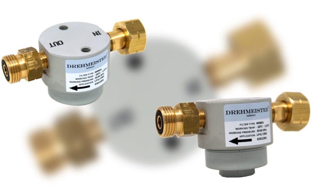 DREHMEISTER Filtro para cilindros de gas