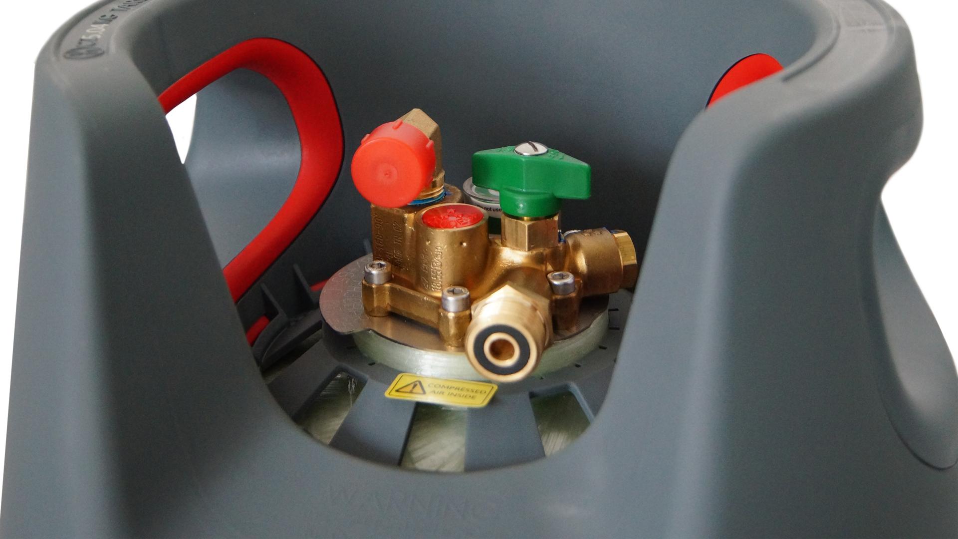 Komposit Tankflasche 24,5 Liter mit 80% Füllstop