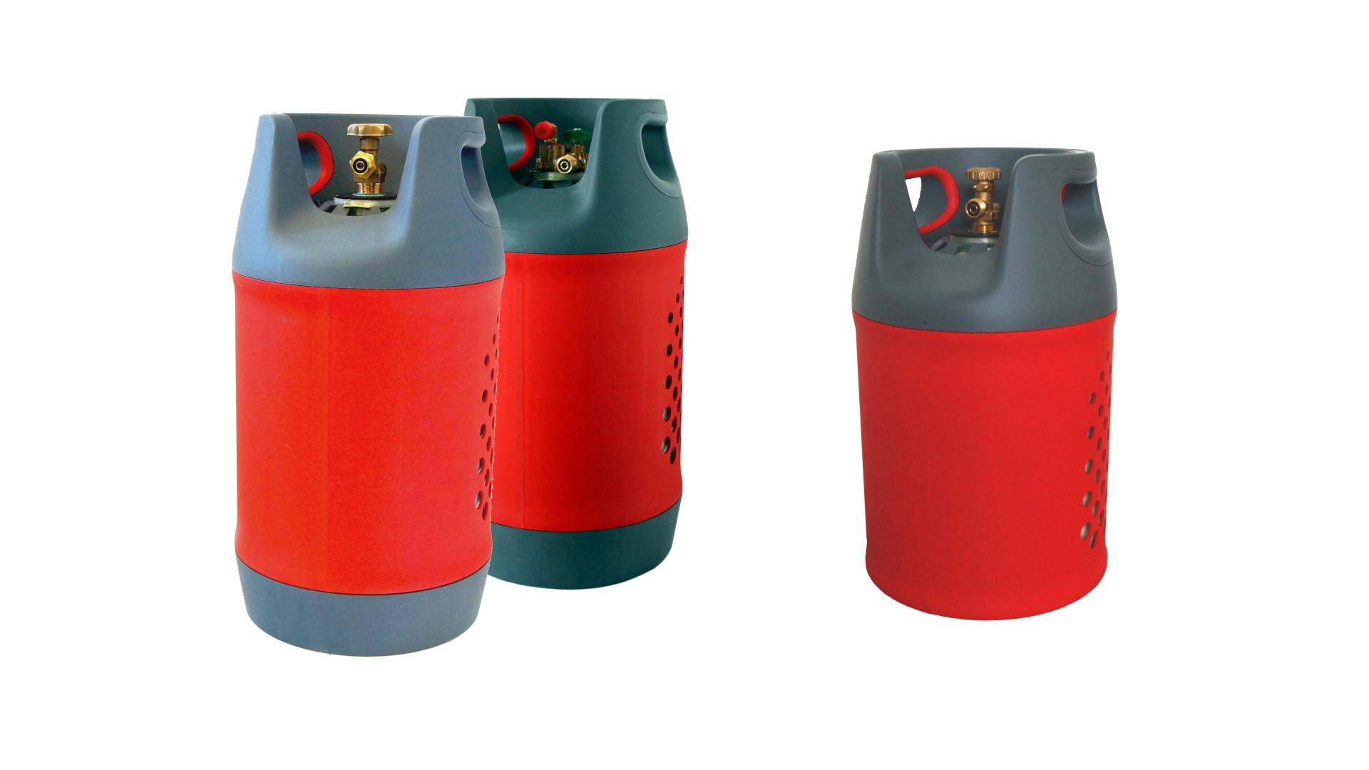 Cilindros de gas de composite