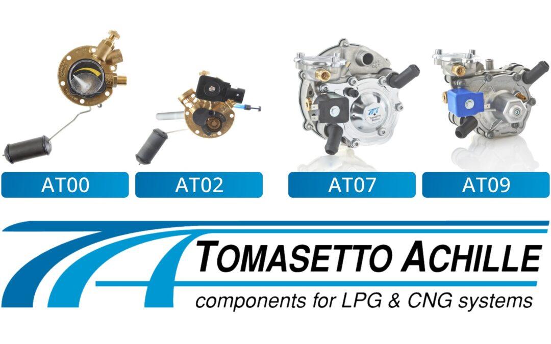 Componentes TOMASETTO para sistemas GLP y GNC