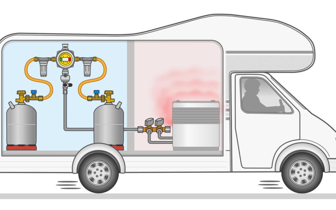 GOK Crash Sensor Regulador de presión – Calefacción durante la conducción