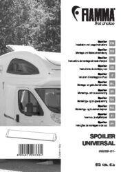 Installation and instruction manual Spoiler universal