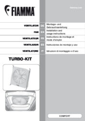 Installation and instruction manual Turbo Kit