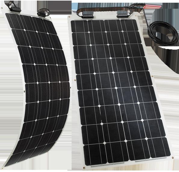 TELECO TSPF 110W – Módulo solar flexible para autocaravanas, caravanas y campers